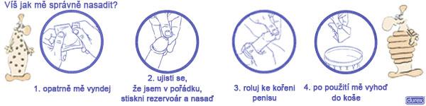 Jak správně nasadit kondom?